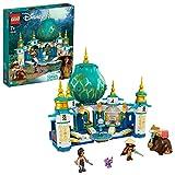 LEGO Disney Princess Raya e il Palazzo del Cuore, Castello Giocattolo con Mini Bamboline di Namaari, Tuk Tuk e Serlot, per Bambini di 7+ Anni, 43181