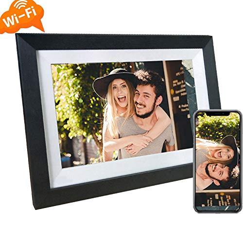 10 Inch WiFi Digital Picture Frame with Touch Screen, Share Photos Quickly via iOS&Android App Digital Frames Picture