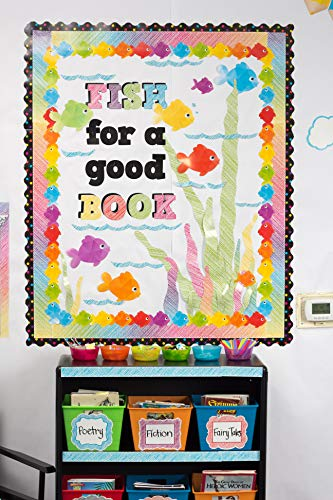 """Teacher Created Resources 2686 Scribble Bold Block 4"""" Letters Combo Pack Photo #3"""