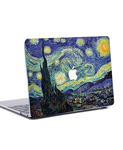 MacBook Air 13 inch Case 2020 2019 2018 Release Plastic Hard Shell Case Cover for 13 inch MacBook Air Retina with Touch ID Model: A2337 / A2179/A1932 - Starry Night
