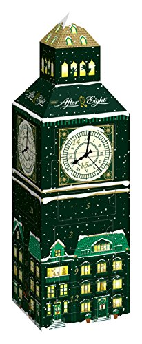 Nestlé After Eight Adventskalender, Feine Minzschokolade, 1er pack (185g - 24 Pralinen)
