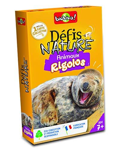 Bioviva - 200554 - Défis Nature - Animaux rigolos