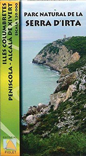 Parc Natural de la Serra D'irta, Illes Columbretes, Peníscola-Alcalà de Xivert. Escala 1:20.000. Editorial Piolet.