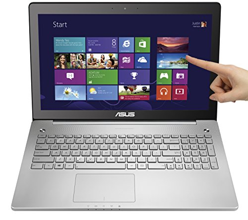Asus N550JX-DS71T 15.6-Inch Full HD Touchscreen Laptop (Intel Core i7-4720HQ, 8GB DDR3L...