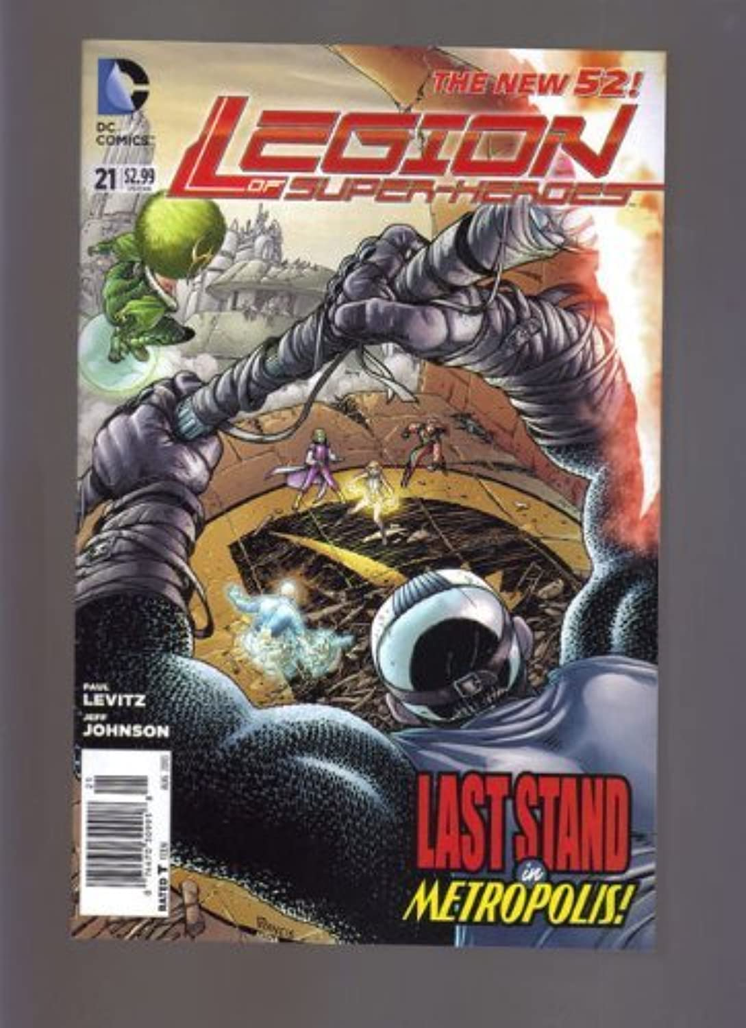 DC The New 52  Legion of Super-Heroes  21 Newsstand Variant Edition