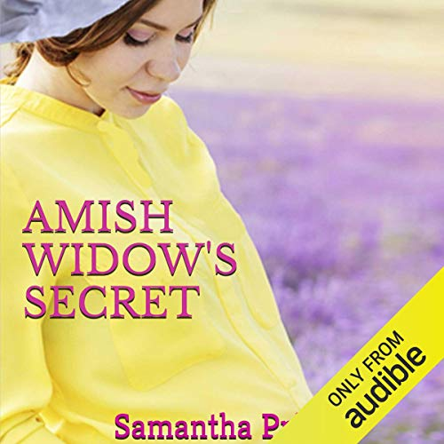 Amish Widow's Secret audiobook cover art