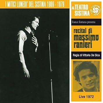 Recital di Massimo Ranieri (I lunedì del sistina - live 1972)