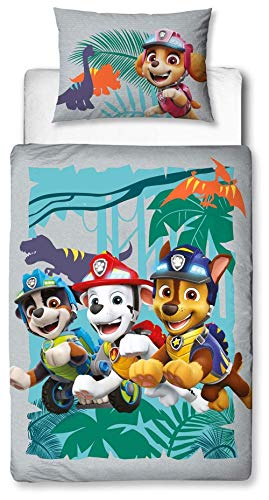 Character World Paw Patrol Dino Junior Toddler Duvet Cover Set