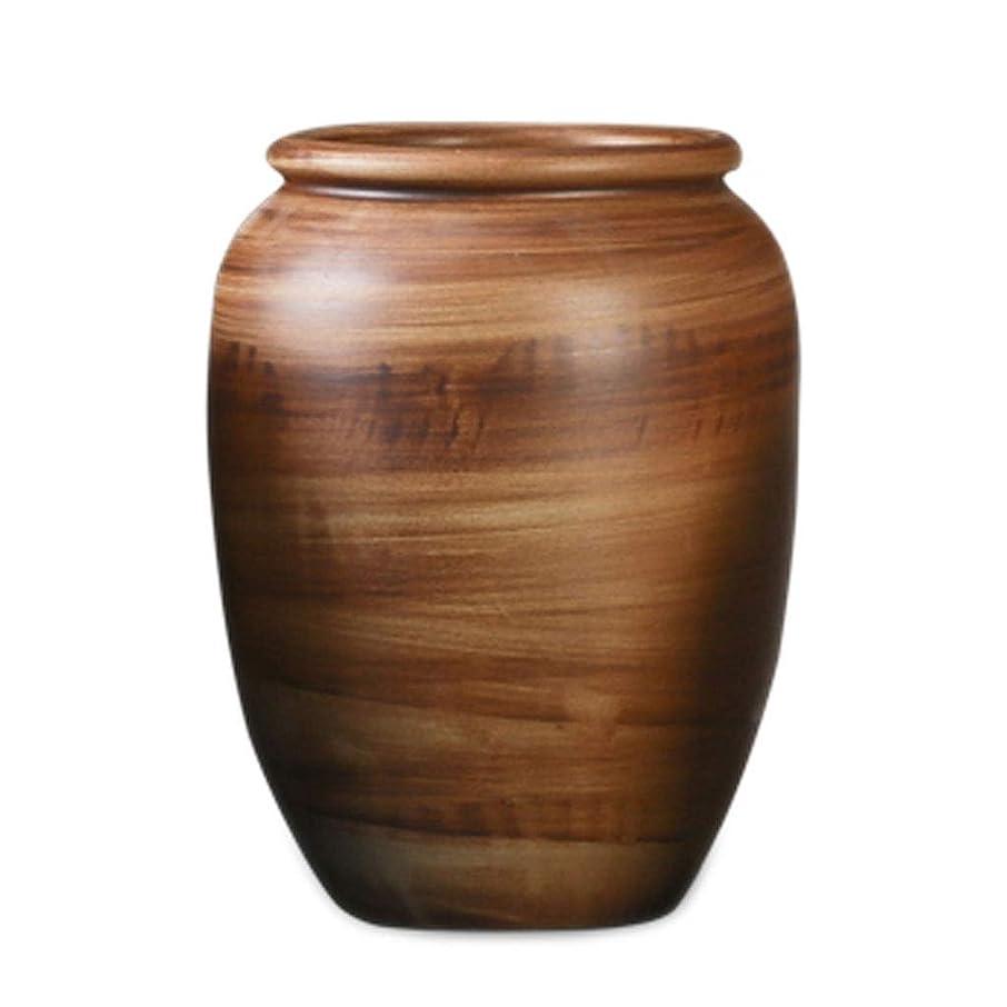 平均発明するロッカー花瓶 セラミックレトロフラワードライブーケホームデコレーションオーナメントDayscreativeシンプル花瓶セラミック インテリア フラワーベース (Size : B)