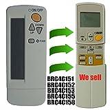 Repuesto de mando a distancia Daikin aire acondicionado en ventana o en pared; compatible con modelo Brc4c151 Brc4c152 Brc4c153 Brc4c155 Brc4c158
