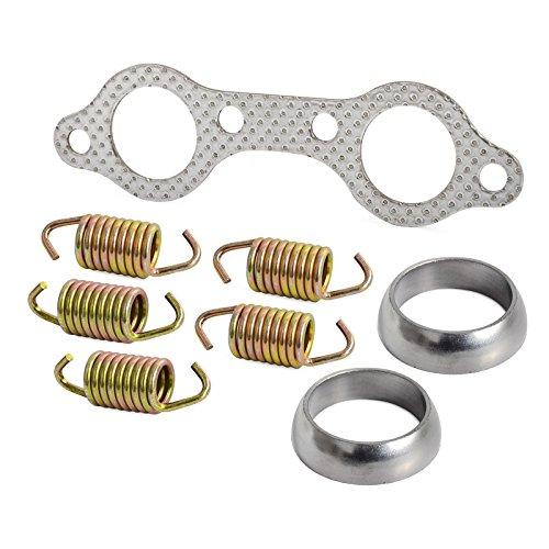 NICECNC Exhaust Gasket & Spring Rebuild Kit for Sportsman 600 2003-2006,Sportsman 700 Touring X2 2002-2007,Replaces 5811511,3610047