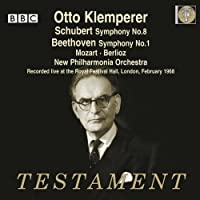 Schubert: Symphony No.8; Beethoven: Symphony No.1 by New Philharmonia Orchestra (2013-06-11)