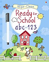 Wipe-Clean Get Ready for School ABC and 123 (Wipe-clean Books)
