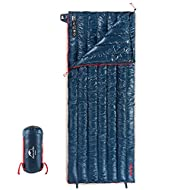 Naturehike 1.26lbs Ultralight 800 Fill Power Goose Down Sleeping Bag - Ultra Compact Down Filled Lightweight Backpack Envelope Sleeping Bag for Hiking Camping