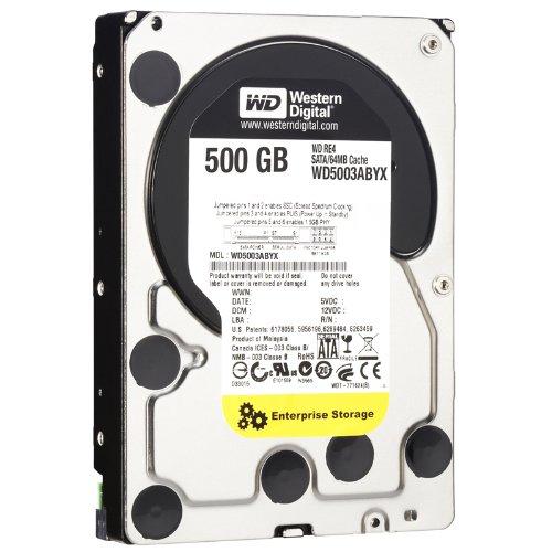 Western Digital WD5003ABYX RE4 500GB interne Festplatte (8,8 cm (3,5 Zoll), 7200rpm, 64 MB Cache)