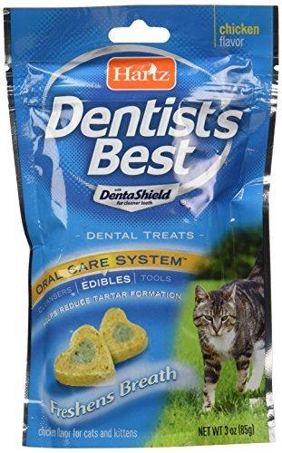 Hartz Dentist's Best Dental Treat for Cats by HARTZ