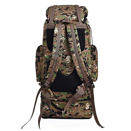 Greenpromise 100L Militär-Rucksack Molle Camping Tasche Rucksack Taktischer Rucksack Herren Groß Wandern Armee Reisen Outdoor Sport Taschen Sack (Jungle Brown)
