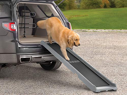 WeatherTech PetRamp, Folding Dog Ramp for Large Dogs to 300 Pounds, Traction Grip Ramps Universal...