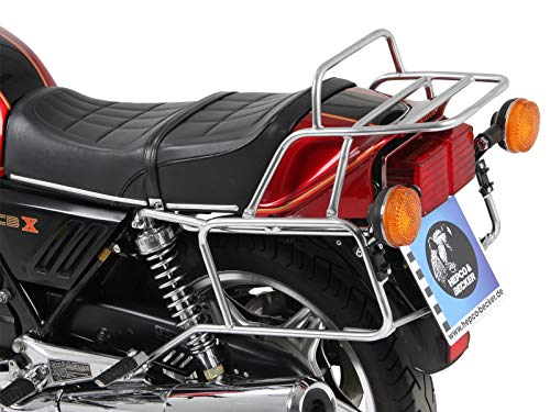 Hepco&Becker Komplettträgerset bestehend aus Seitenkofferträger und Rohrgepäckbrücke - Chrom für Honda CBX 1000/1978-1980