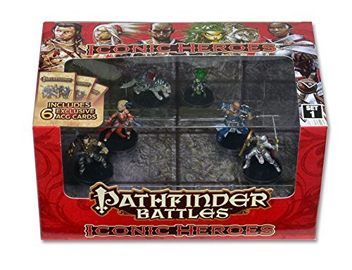WizKids Pathfinder Battles: Iconic Heroes Box Set 1