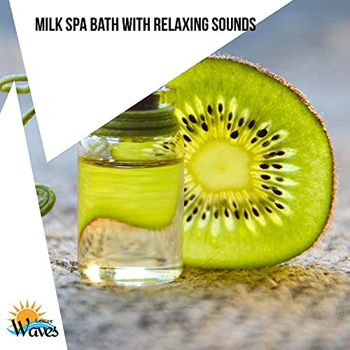 Milk Spa Bath with Relaxing Sounds (Relaxing Bath Milk)