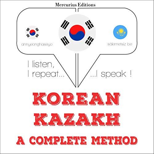 Korean – Kazakh. A complete method cover art