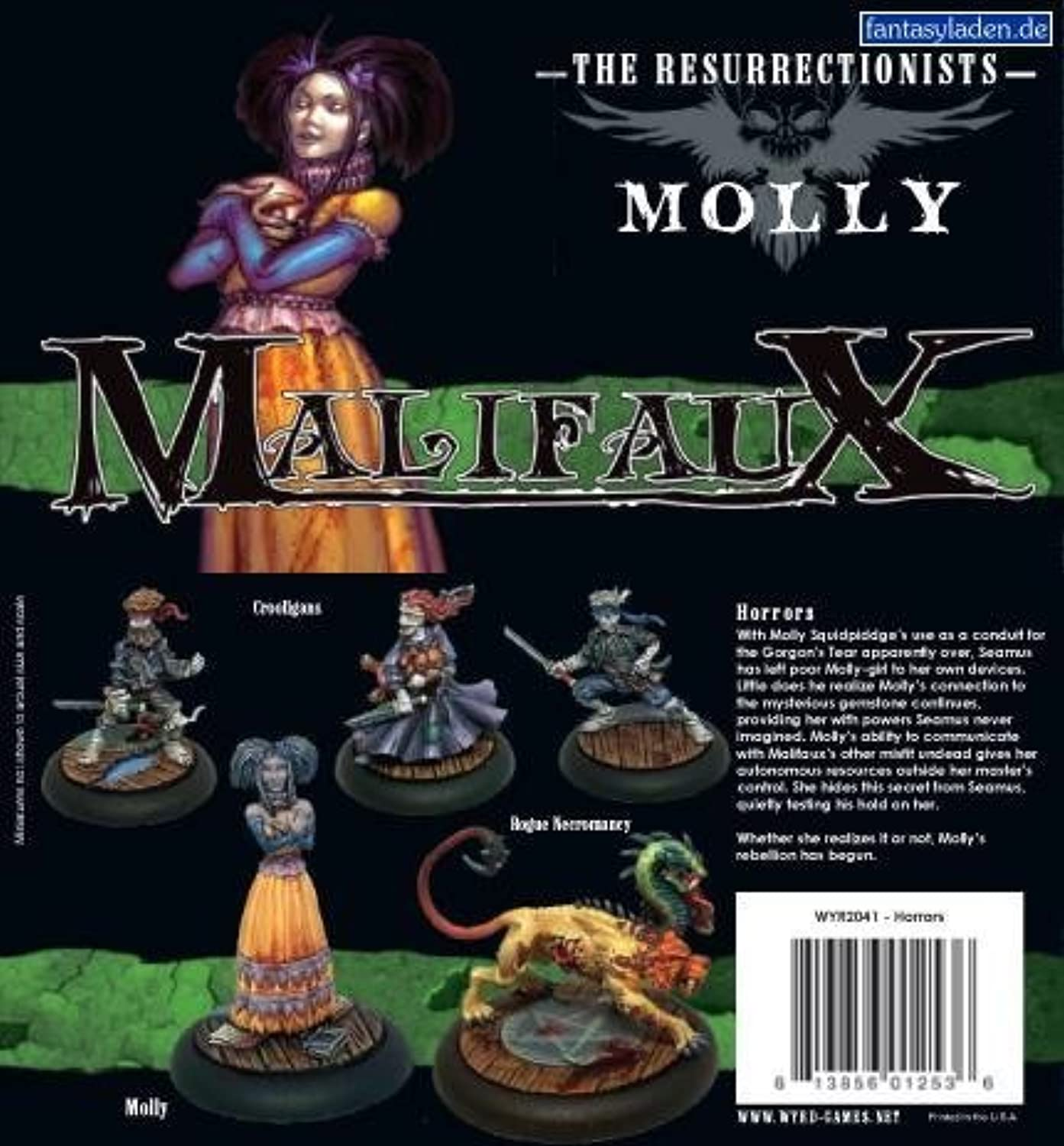 Molly scatola Set Ressurectionists Malifaux
