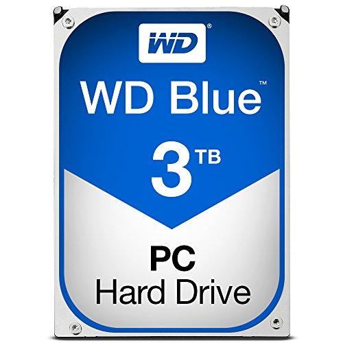 WD Blue WD30EZRZ - Disco duro interno 3.5 pulgadas, SATA 3, 64...