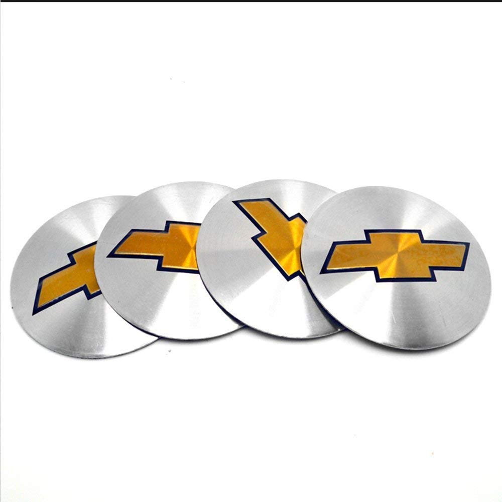 4x US  Aluminium Spider Pattern Wheel Center Hub Cap Emblem Badge Sticker Decal