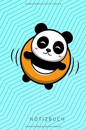 Notizbuch: mit Panda Pool Achtsamkeit Journal