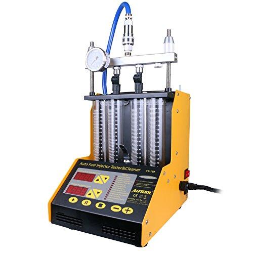 Ultraschallwellen Injektor Reiniger und Tester MINI CT-150 Automotive 4 Zylinder Unterstützung Motorrad CT150 Automotive Kraftstoff Reinigungswerkzeuge 220V