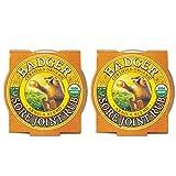 Badger - Sore Joint Rub, Arnica & Black Pepper, Organic Sore Joint Rub, Balm for Sore Joints, Warming Balm, Joint Relief Balm, Warming Joint Rub, Sore Joint Rub, 0.75 oz (2 Pack)