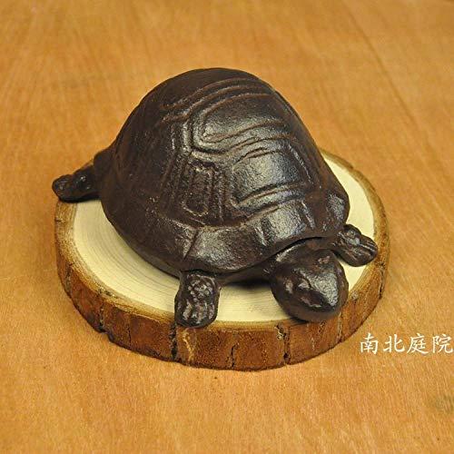 WANDOM Retro Distressed Gusseisen Schildkröte Schlüsselkasten Lagerung Eisen Dekoration Ornamente Hausgarten verschiedene Waren Dekoration Handwerk