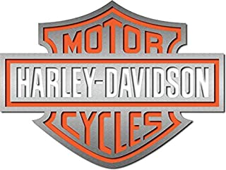 Chrome Barre /& Shield Logo Harley-Davidson Autocollant XL 76,2/x 101,6/cm Cg4330