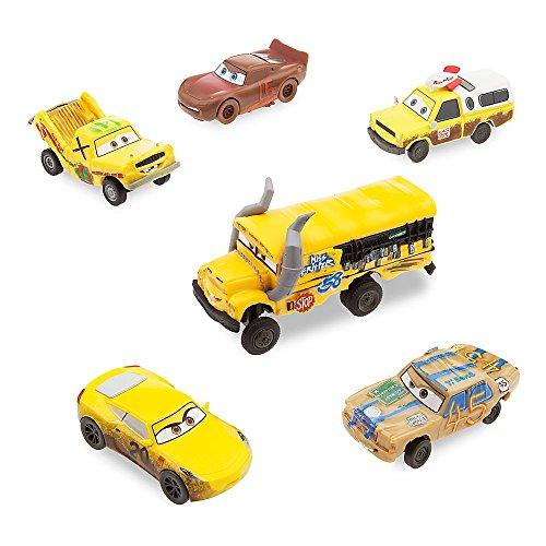 Set de figuritas de los Crazy 8 de Disney Pixar Cars 3