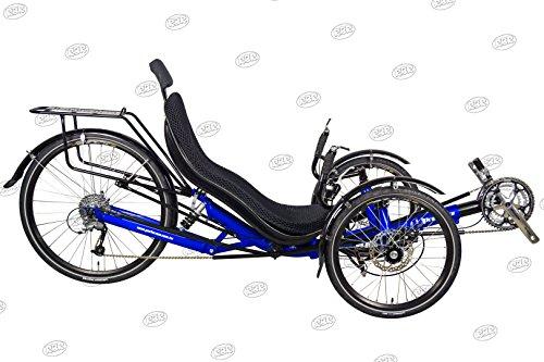 Performer JC-26X Recumbent Trike 27 Speed FRP (Blue)