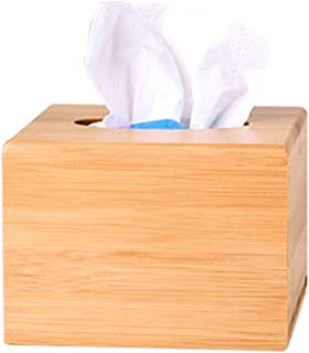 صندوق مناشف خشبي من الخيزران، صندوق مناديل ورقية لتخزين المناشف ورقية، صندوق مناديل تخزين الرسم الإبداعي، غرفة المعيشة الم...