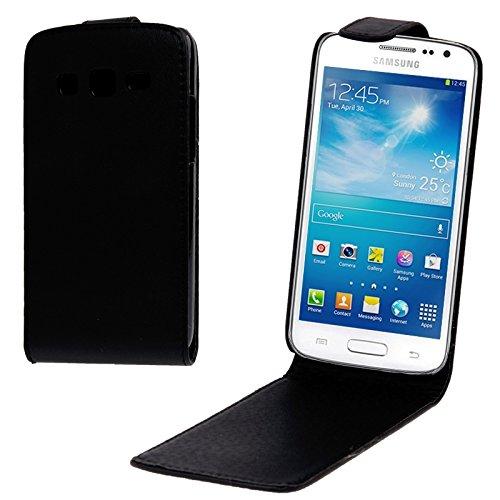 Schützen Sie Ihr Mobiltelefon Vertikale Flip Leder Tasche für Samsung Galaxy Express 2 / G3815 für Samsung Handy