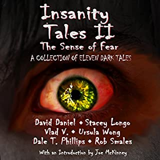 Insanity Tales II: The Sense of Fear audiobook cover art