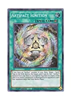 遊戯王 英語版 BLAR-EN074 Artifact Ignition アーティファクト・ムーブメント (シークレットレア) 1st Edition