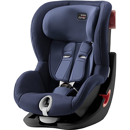 Britax Römer KING II Kindersitz 9-18 kg, Autositz Gruppe 1, Moonlight Blue