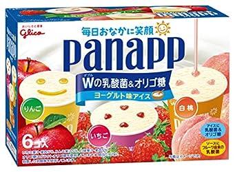 [冷凍] 江崎グリコ パナップ マルチパック 毎日おなかに笑顔 94ml×6個