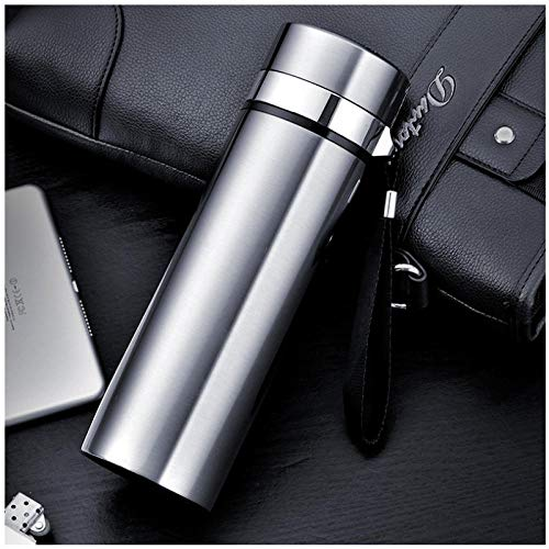 Wgath Fashion 500Ml Home Thermos Thee Thermoskan Met Filter Roestvrij Staal Thermische Cup Koffiemok Waterfles Kantoor Bedrijf C