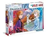 Clementoni- Puzzle Suelo 60 Piezas Frozen 2, Color Multicolor. (26452.0)