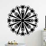 Geometrische Muster Wandaufkleber abnehmbares Wandbild