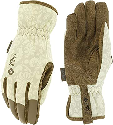 Ethel: Women's Gardening & Utility Work Gloves by Mechanix Wear - Rendezvous (Women's Medium)