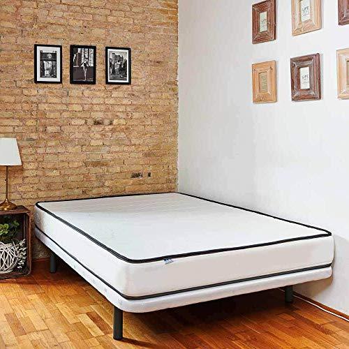 Colchón articulable Manhattan para un Descanso Firme y elástico. 17 cm de Altura. (90x190)