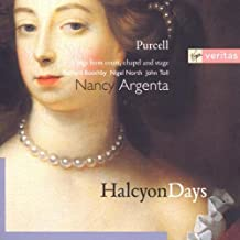Purcell: Halcyon Days - Songs for court, chapel and stage /Argenta