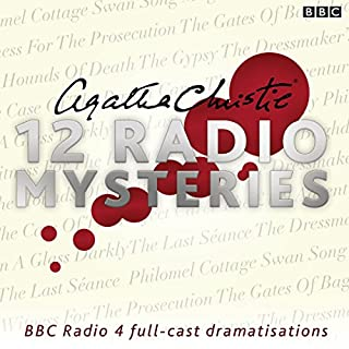 Page de couverture de Agatha Christie: Twelve Radio Mysteries