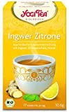 6er Pack Yogi Tee BIO Ingwer-Zitrone, 17 Btl. à 1,8g